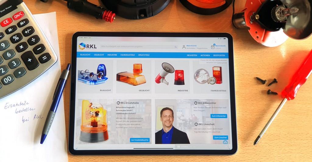 RKL.de_Blog_Bestellung per Tablet